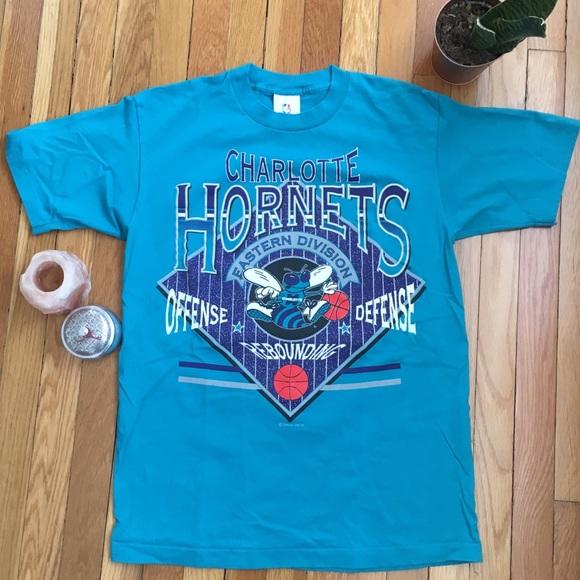charlotte hornets t shirt